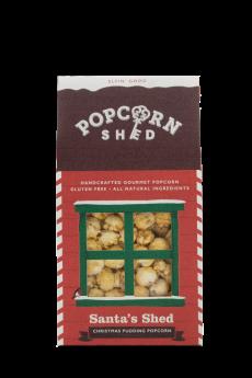 Popcorn Shed Santas Christmas 80g x10
