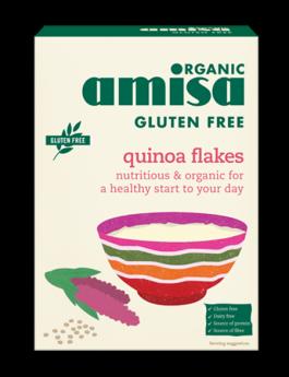 Amisa Organic Quinoa Fibre Plus Crispbread 100g x12