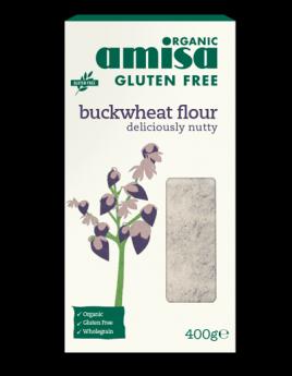 Amisa Organic Quinoa Flakes 400g x6