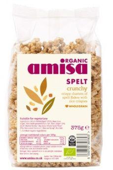 Amisa Organic Spelt Puffs 200g x6