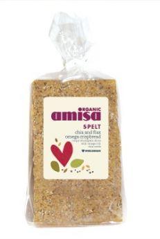 Amisa Organic Fusilli- Corn & Rice 500g x6