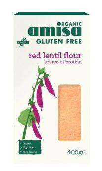 Amisa Chick Pea Flour (Fine milled) Gluten Free Organic 400gx6