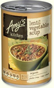 Amy's Kitchen Organic Lentil Soup 400g x6
