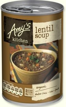 Amy's Kitchen Organic Hearty French Country Vegetable Soup 408g x6