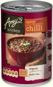 Amy's Kitchen Organic Spicy Chilli 416g x6