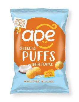 Ape Snacks Cheese Coconut and Rice Puffs 24g x24