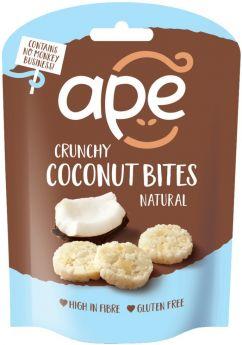 Ape Snacks Crunchy Natural Coconut Bites 30g x10