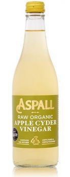 Aspall Raw Organic Unf Cyder Vinegar (with mother) 6x500ml