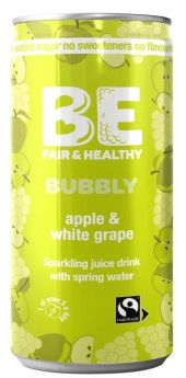 Be Bubbly Apple and White grape Drink 250ml x24