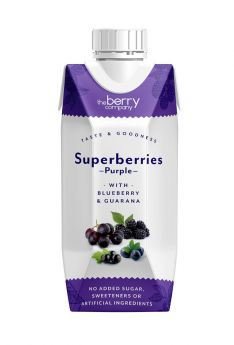 The Berry Company Superberries Red Juice Drink 330ml x12
