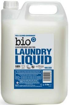 Bio-D Unfragranced Laundry Liquid (Concentrated, Non-Biological) 1L x12