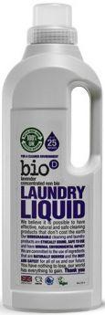 Bio-D Unfragranced Laundry Liquid (Concentrated, Non-Biological) 5L x4