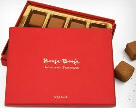 Booja Booja Fair Trade & Organic Hazelnut Truffles 185g x3