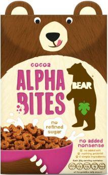 Bear Cocoa Multigrain Alphabites (No Added Nonsense) 350g x4