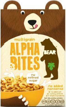 Bear Multigrain Alphabites (No Added Nonsense) 350g x4