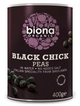 Biona Black Beans Organic in Glass Jars 350gx6