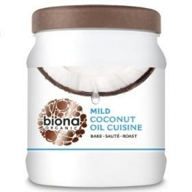 Biona Coconut Oil Cuisine - Mild & Odourless Organic 610mlx6