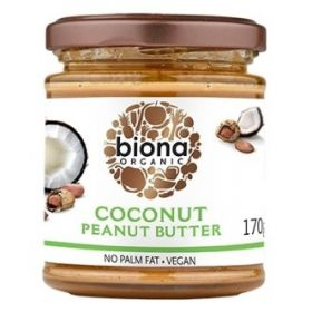 Biona Coconut Peanut  Butter  Organic 6x170g