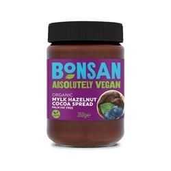 Bonsan Organic Mylk Hazelnut Cocoa Spread Vegan 350gx6