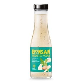 Bonsan Organic Caesar Dressing Vegan 325mlx6