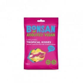 Bonsan Organic Tropical Kisses Reduced sugar Vegan 50gx12