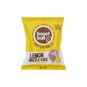 PROMO - Boostball Lemon Drizzle Cake Protein Ball 42g x12