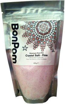 BonPom Fine Ground Himalayan Rose Pink Crystal Salt 200g x1