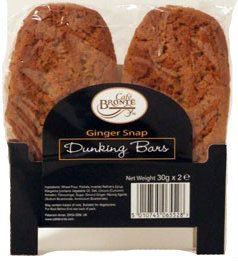 Bronte Cafe Ginger Snap Dunkers (2x30gx24)
