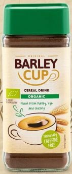 Barleycup Organic Natural Instant Grain Coffee 6x100g