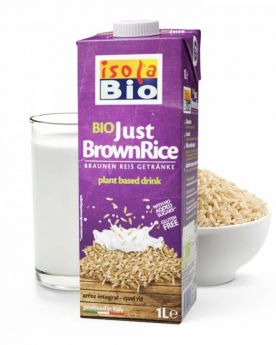 Isola Bio Brown Rice Drink unsweetened 6x1ltr