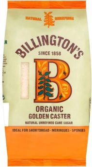 Billington's Organic Caster Sugar 500gx10