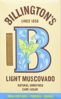 Billington's Light Muscovado Sugar 500gx10