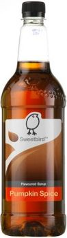 Sweetbird Classic Peanut Butter Flavoured Syrup 1 Litre x1