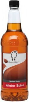 Sweetbird Classic White Chocolate Flavoured Syrup 1 Litre x1