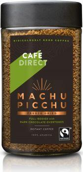 Caf?direct Fair Trade Machu Picchu (Peru) Freeze Dried Instant Coffee 100g x6