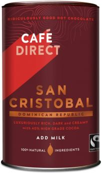 Caf?direct Fair Trade San Cristobal Drinking Chocolate 250g x6