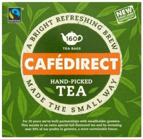 Cafedirect FT (FTB0003) Round Tea Bags 6 x 160's
