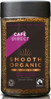Cafedirect FT (FCF1007) ORG Smooth Instant Coffee 6 x 100g