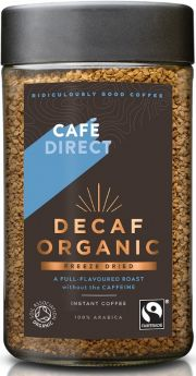 Cafedirect FT (FCF1008) ORG DECAF Instant Coffee 6 x 100g