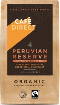 Cafedirect ORG & FT Peru R&G Coffee 227g x6