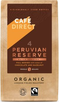 Cafedirect FT (FCR1015-N) ORG Peruvian Whole Beans 6 x 227g