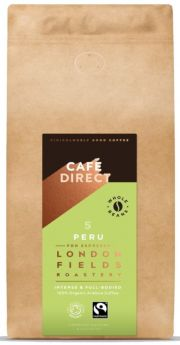 Cafedirect FT Organic LF Peru Whole Beans 6x1kg