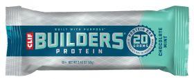 Clif Chocolate Mint Builder's Protein Bar 68g x12