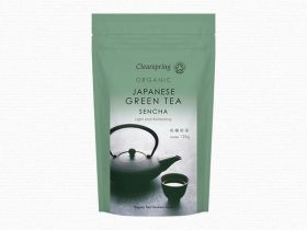Clearspring Organic Japanese Genmaicha, Green Tea with Roasted Rice - loose 125g x 6