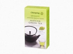 Clearspring Organic Japanese Matcha Shot (Premium Grade Green Tea Powder) - 8 sachets 6 x (8x1g)