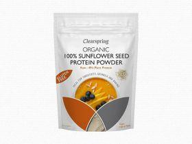 Organic Raw 100% European Sunflower Seed Protein Powder 8 x350g