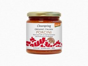 Clearspring Demeter Organic Italian Porcini Pasta Sauce 300g x 6