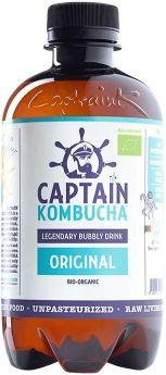 Captain Kombucha Bio-Org Original Drink 400ml x12