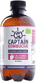 Captain Kombucha Original Bio-Organic Bubbly Drink 400ml x8