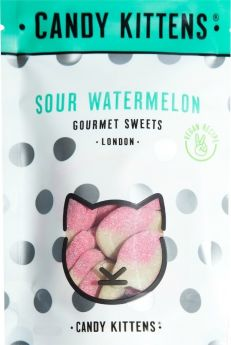 Candy Kittens Sour Watermelon (Treat Bag) Gourmet Sweets 108g x9